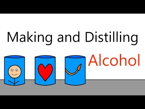 How is alcohol made and distilled? (feat. broken beaker distillery)