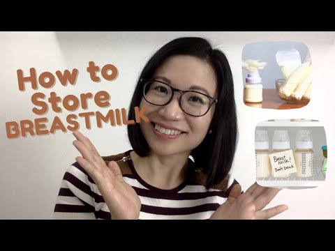 Storing breastmilk: how to store in room temperature, refrigerator and freezer   dr. kristine kiat