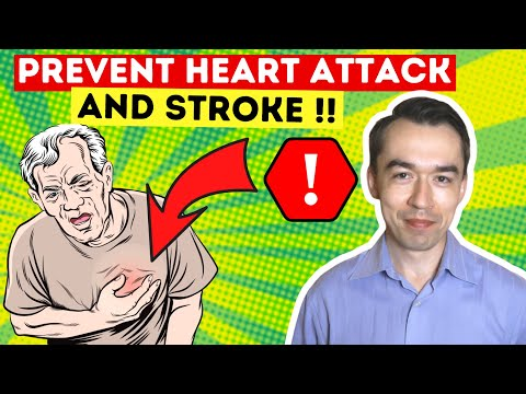 How to prevent heart attack and avoid stroke! (high cholesterol???) what is atherosclerosis