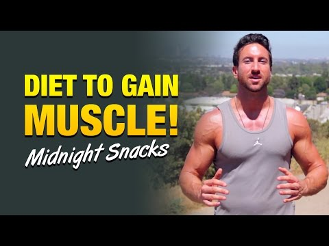 Diet to gain muscle: 3 late night snacks to build muscle