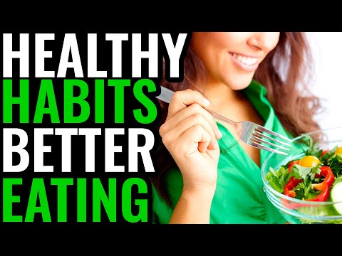 Healthy habits better eating resolutions   eat well