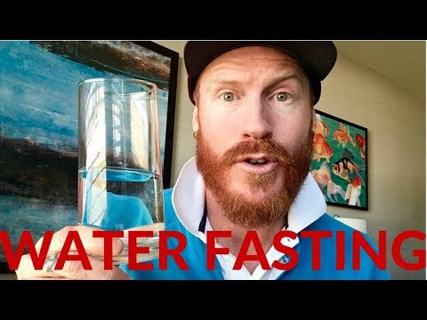 Water fasting / how much water should you drink per day
