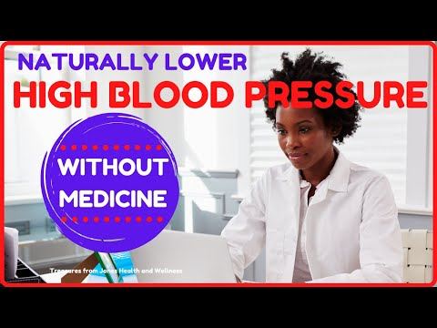 7 tips to lower high blood pressure naturally without medicine