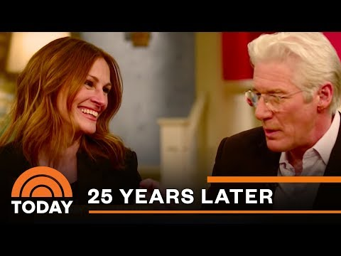 'pretty woman' cast reunites 25 years later | today