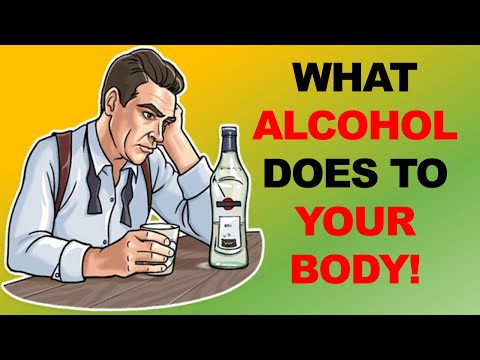 What alcohol does to your body!