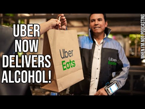 Uber now delivers alcohol!