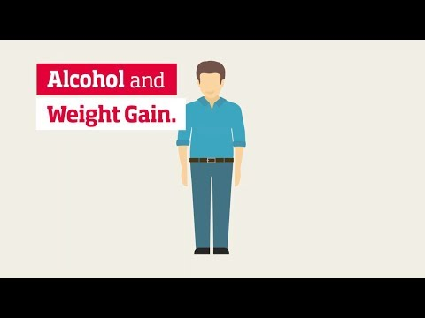 Alcohol and beer bellies