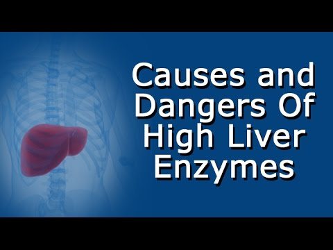 High liver enzymes - causes and dangers