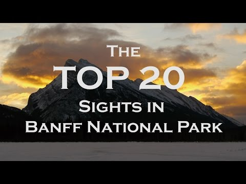 The top 20 sights in banff national park - full hd