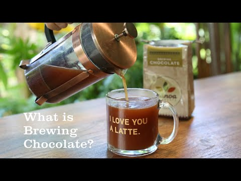 What is brewing chocolate?