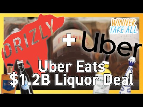 Uber acquires alcohol delivery service drizly for $1.2 billion 🍷🍸🥃