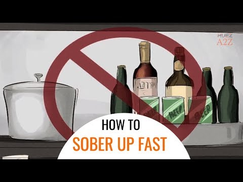 How to sober up quickly   sober up   quick result