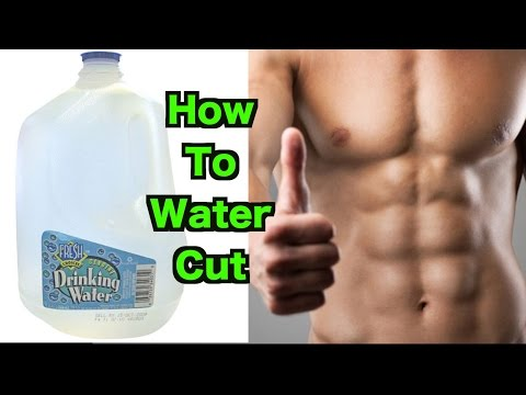 How to water cut | lose 10 lbs in one day