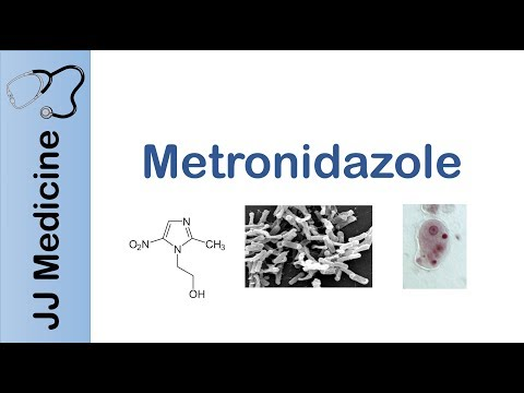 Metronidazole | bacterial targets, mechanism of action, adverse effects