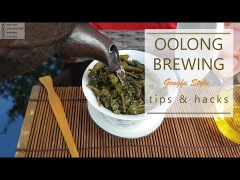 How to brew oolong tea - best tips for brewing unknown tea | gonfu brewing | zhentea