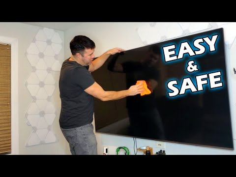 How to clean a flat screen tv without damaging it