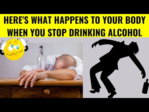 Alcohol withdrawal syndrome - what quitting alcohol does to your body