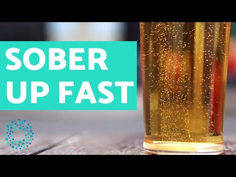 How to sober up fast: alcohol