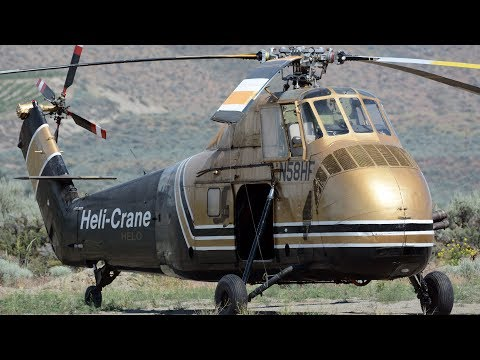 Sikorsky s-58 helicopter x5   brewster wa