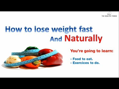 12 tips how to lose weight naturally and fast