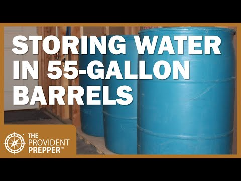 The 5 best treatment methods for 55-gallon water barrels