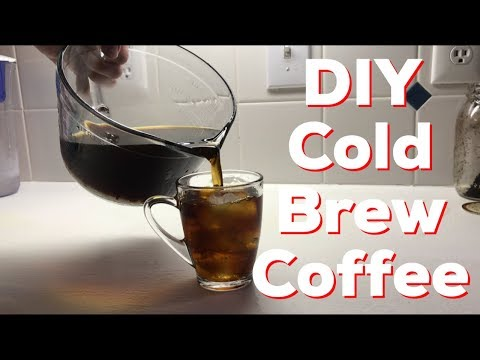 How to cold brew coffee at home - easy - diy