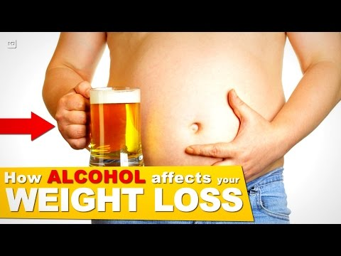How alcohol affects the liver & body to limit your weight loss! ( stops fat loss!)