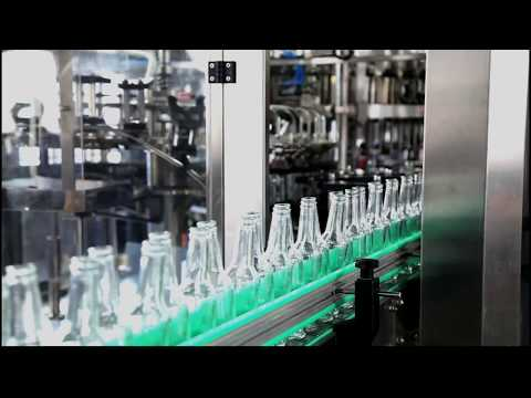 Glass bottle carbonated beverage filling production line - chenyu packing machinery