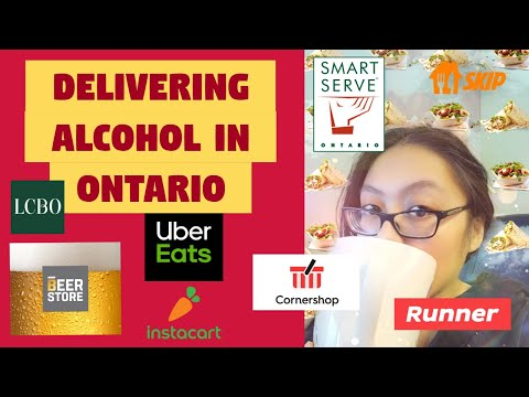 How to do alcochol delivery