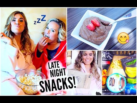 Healthy late night snack ideas!