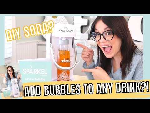 Sparkel review   diy soda-pop from anything?!