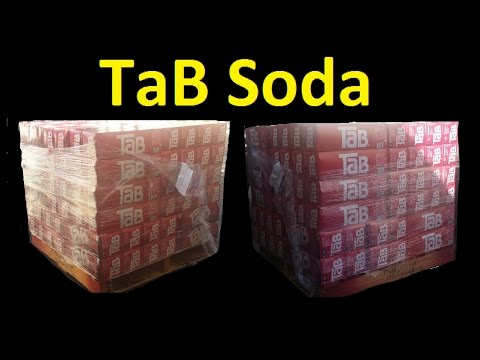 How much soda is too much? ~ tab cola coke pallet