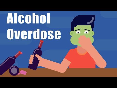 Danger of alcohol overdose i health and nutrition