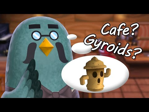 Brewster, cafe & gyroids coming to animal crossing new horizons?