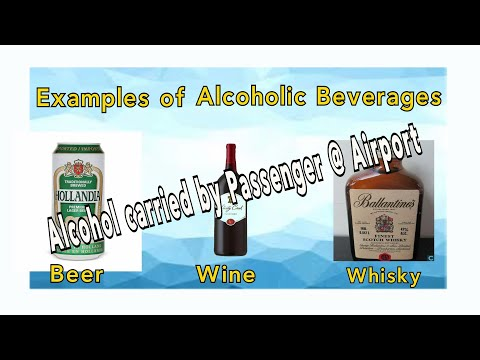 Alcohol on a plane | carrying alcohol in flight
