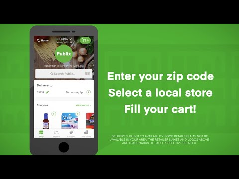A step-by-step guide for using instacart (mobile)