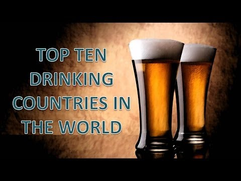 Top ten alcohol drinking countries in the world!!!