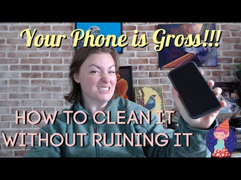 How to clean your phone: disinfect your smartphone without ruining it!