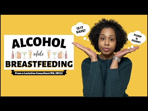 Alcohol while breastfeeding   is breastfeeding and drinking safe   pump and dump?