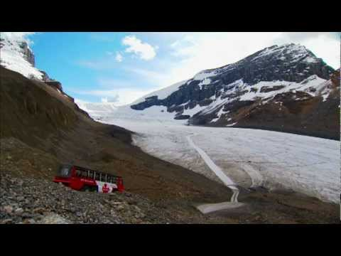 Foremost industries terra bus - glacier tours on the columbia icefield canadian rockies