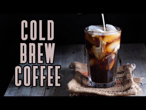 How to cold brew coffee at home using pampered chef cold brew pitcher ☕