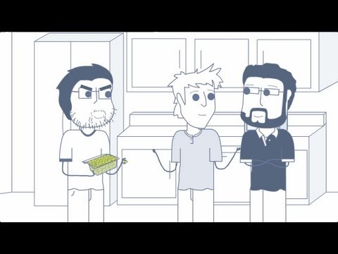 Rooster teeth animated adventures - grapes, calls & storage