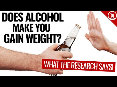 Does alcohol make you gain weight? (the 4 biggest problems)
