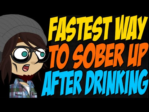 Fastest way to sober up after drinking