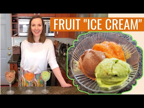 How to make ice cream from frozen fruit. 3 food processor ice cream recipes - healthy and vegan!