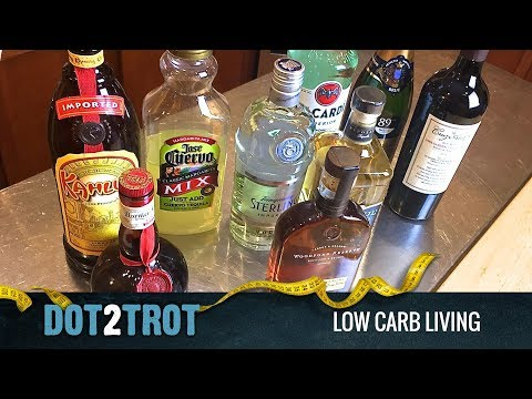 Top 5 low carb alcoholic drinks for the holidays