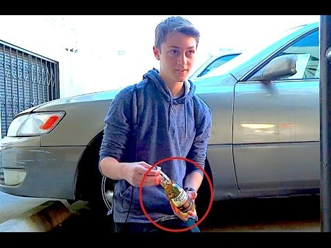 15 year olds buying alcohol underage! (social experiment)