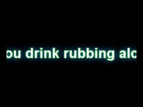 Can you drink rubbing alcohol ?