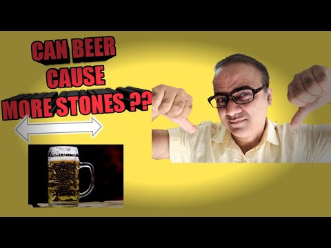 Can beer cause more stones ( in english)