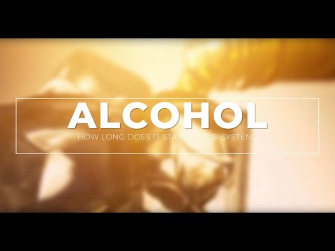 How long does alcohol stay in your system? (urine, blood & breath) #drugtest #alcoholtest #alcohol